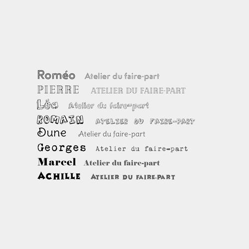typographies ludiques