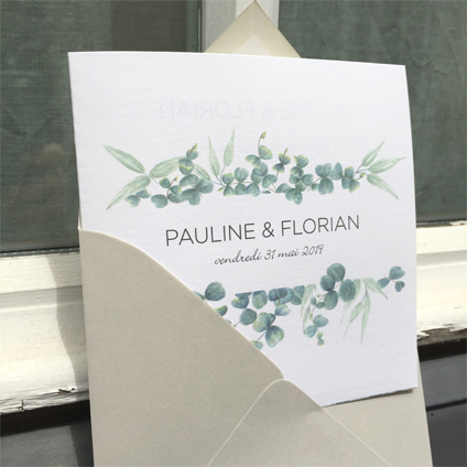 mariage eucalyptus