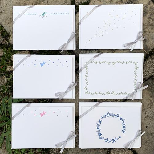 5 cartes & 5 enveloppes